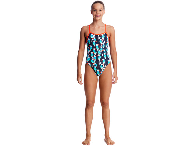 Funkita Single Strap One Piece Svømmedragt Børn farverig | swim_clothes